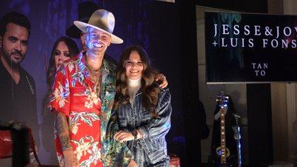 Jesse y joy  (Foto: Juan Vicente Manrique/Infobae)