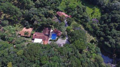 La casa de Lula en Atibaia
