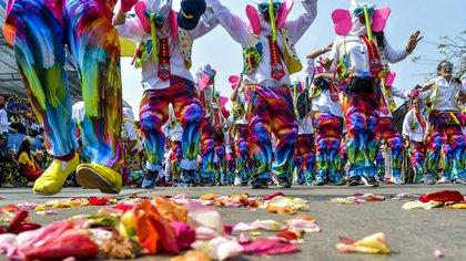 La Marimonda es uno de los disfraces más representativos de Barranquilla y su Carnaval.