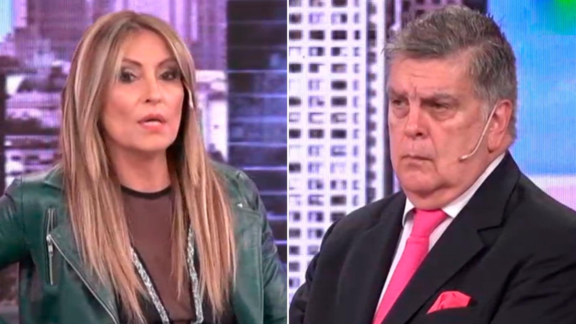 """Llegada con retraso y un saludo frío: el reencuentro de Marcela Tauro y Luis Ventura en """"Fantino a la tarde"""" - Infobae"""