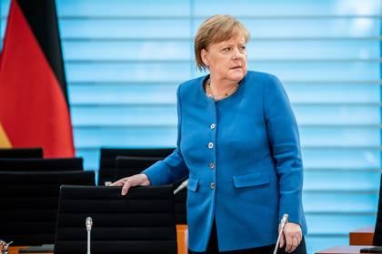 La canciller alemana Angela Merkel (Michael Kappeler/Pool via Reuters)