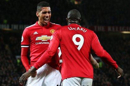 Lukaku y Smalling fueron dos de los que abandonaron el Manchester United recientemente