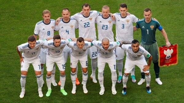 El equipo que enfrentó a Uruguay en el tercer partido de a primera fase