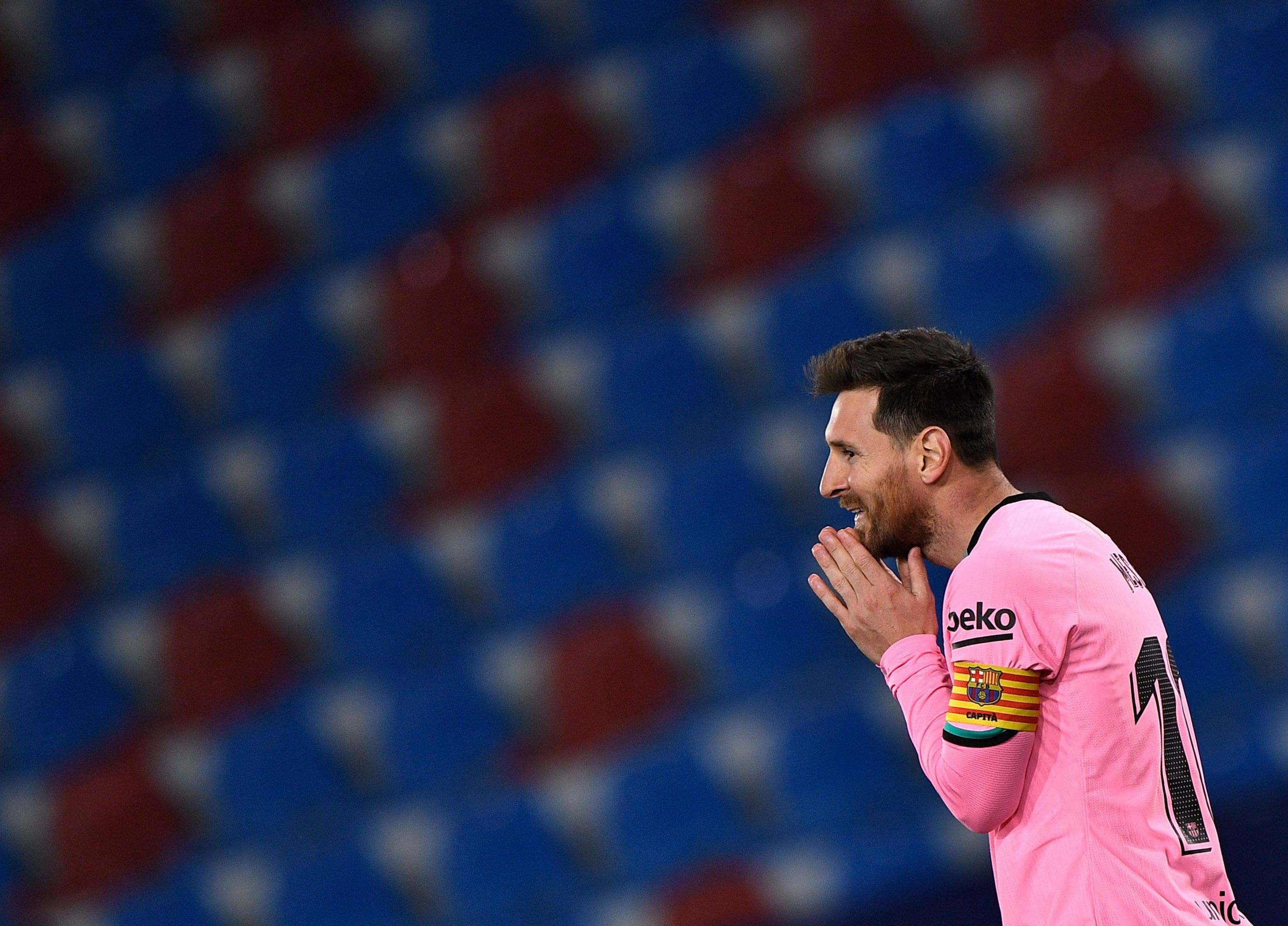 La elección del nuevo entrenador podría ser clave para la renovación de Messi (Reuters)