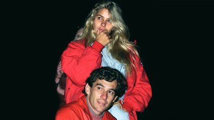 Galisteu fue la novia de Ayrton Senna durante su último año y medio de vida
