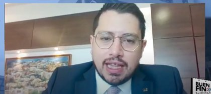 Carlos Martínez anunció la participación del Infonavit en el Buen Fin. También participarán instituciones dedicados al mercado inmobiliario (Foto: Captura de Pantalla)