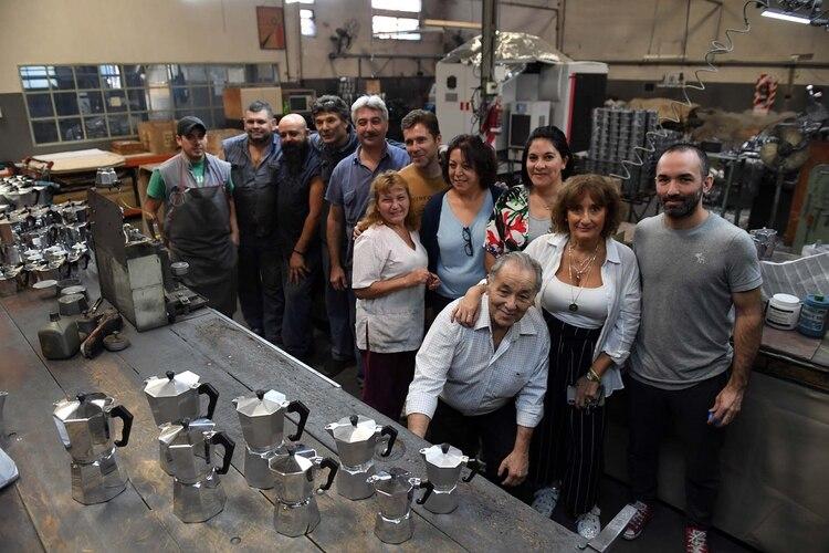 Volturno es una auténtica empresa familiar con empleados que trabajaron allí toda su vida