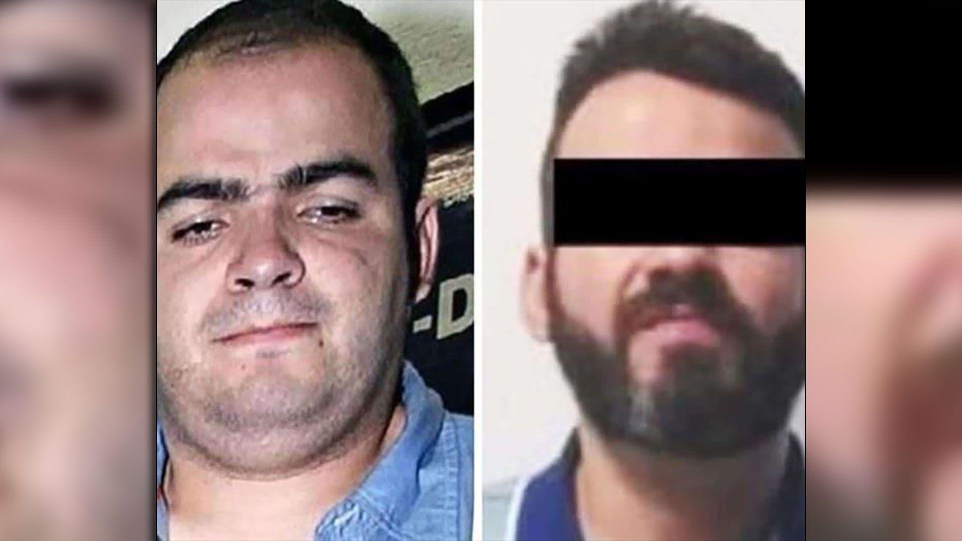 """Roberto Moyado Esparza, """"El Betito"""", antes y después de su transformación."""