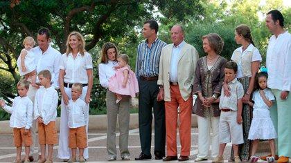 La familia real española (Grosby)