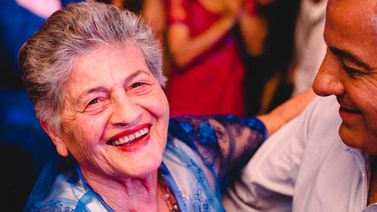 Minga quedó viuda antes del os 50 años y nunca más volvió a formar una pareja