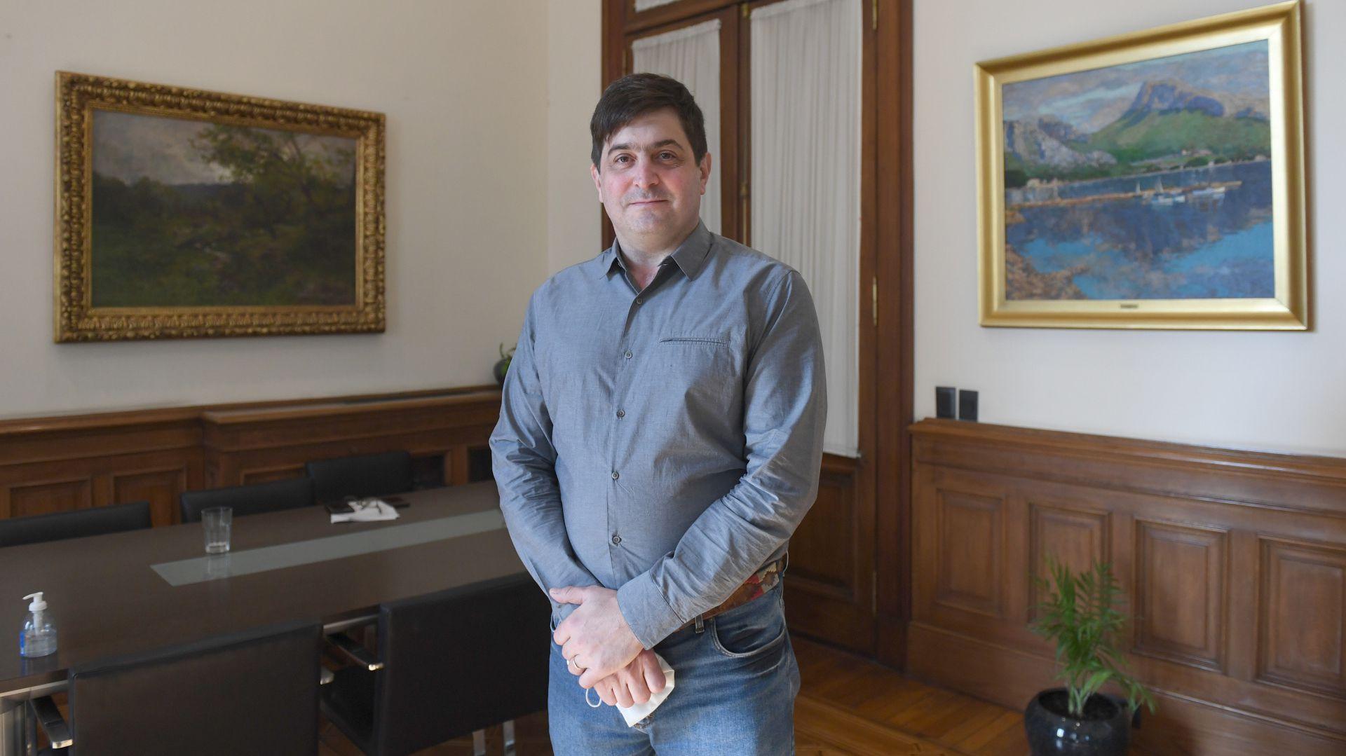 Gabriel Delgado - interventor Vicentin
