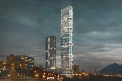 Esta torre tiene una altura de 304.8 metros (Foto: Twitter)