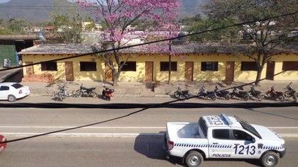 Una de las calles de la pequeña localidad salteña de Salvador Massa