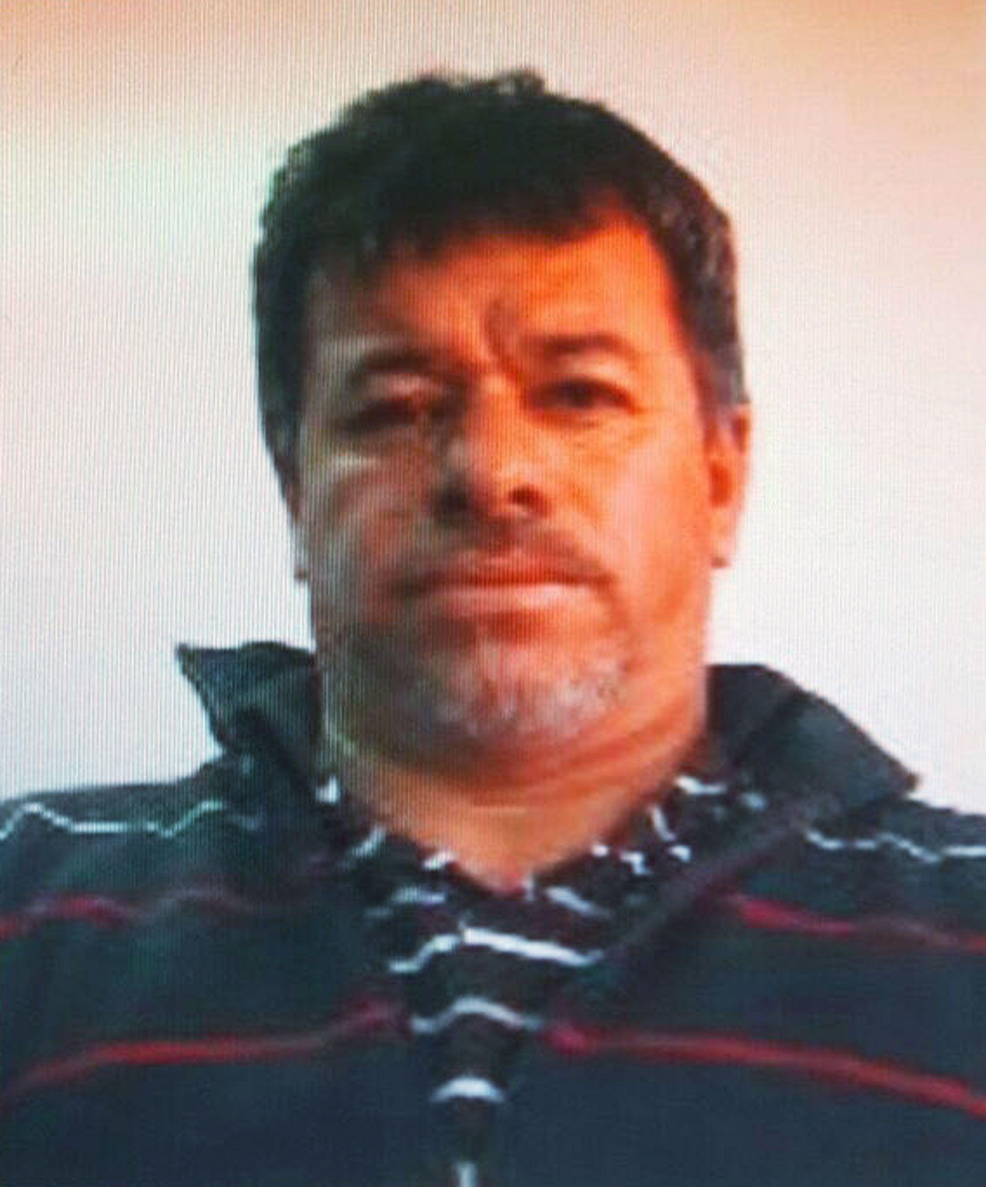 """Pedro Ramón """"El Carnicero"""" Fernández Torres fue captado por cámaras de seguridad llevándose el cuerpo del empresario español"""