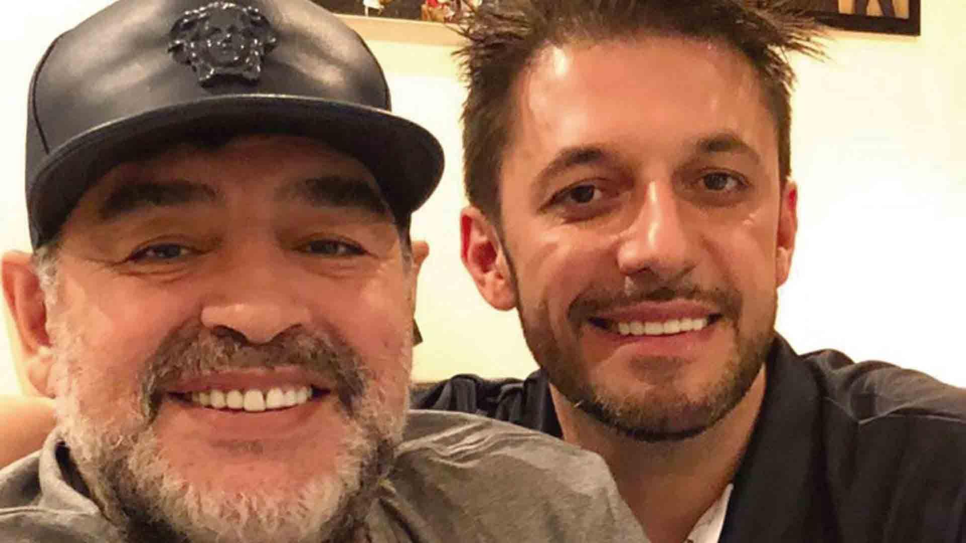 """Matías Morla compartió un emotivo video a dos semanas de la muerte de Diego Maradona: """"Te extraño"""""""