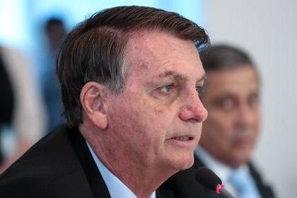 """Bolsonaro denuncia una persecución en su contra y """"reta"""" a la prensa"""