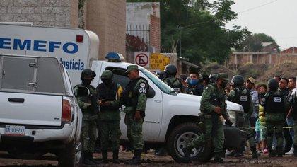 Ataque en Anexo de Irapuato (Foto: Cuartoscuro)