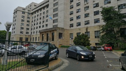 Los tribunales de Comodoro Py