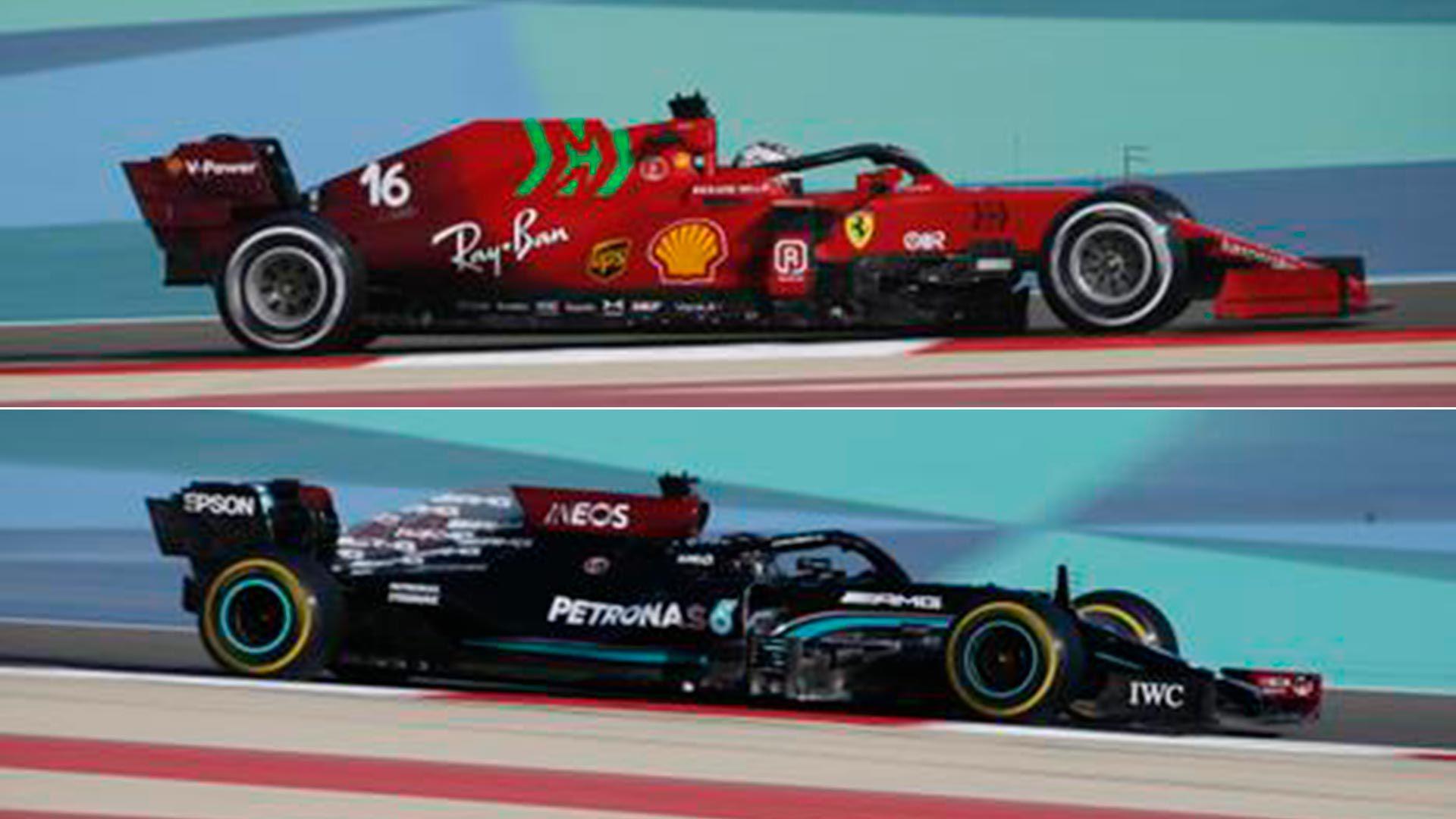 Mercedes-Ferrari F1