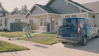 Ford quisiera desplegar robots de entrega Digit desde 2021