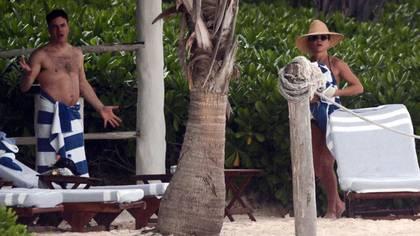 Jennifer Aniston y Will Speck en Tulum, México (The Grosby Group)