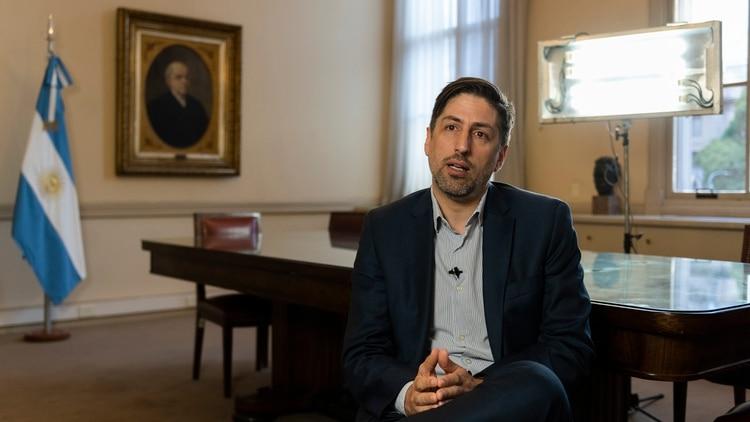 El ministro de Educación nacional, Nicolás Trotta. (Adrián Escandar)