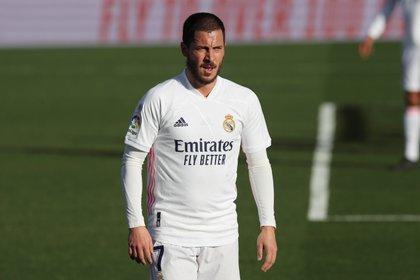 Real Madrid player Eden Hazard.  EFE / Kiko Huesca / Archive