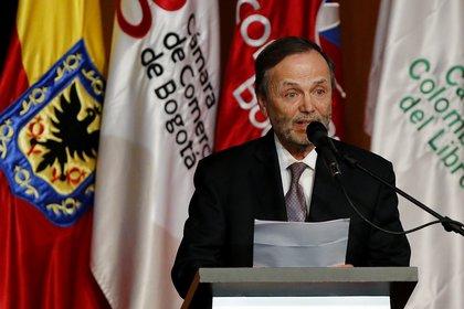 El presidente ejecutivo de Corferias, Andrés López. EFE/LEONARDO MUÑOZ/Archivo