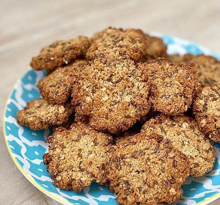 Cookies de avena y coco