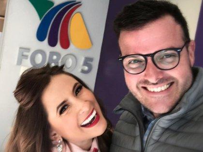 Linet Puente y Carlos Luis Galán tuvieron un confrontamiento que llevó al divorcio luego de que el productor la engañara (Foto: Instagram @linetpuente)