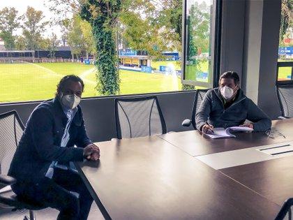 Fue en junio que Miguel Herrera renovó contrato hasta el 2024 (Foto: Club América)