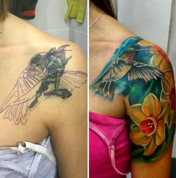 Mi Tatuaje Mi Pesadilla Tres Artistas Y El Dificil Arte De Tapar