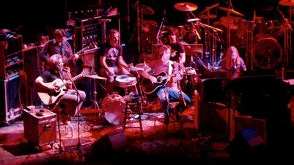 La banda de rock californiana Grateful Dead, clave en la difusión del término 420