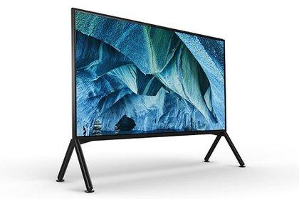 Sony renovó su línea de televisores con modelos 4K y 8K.