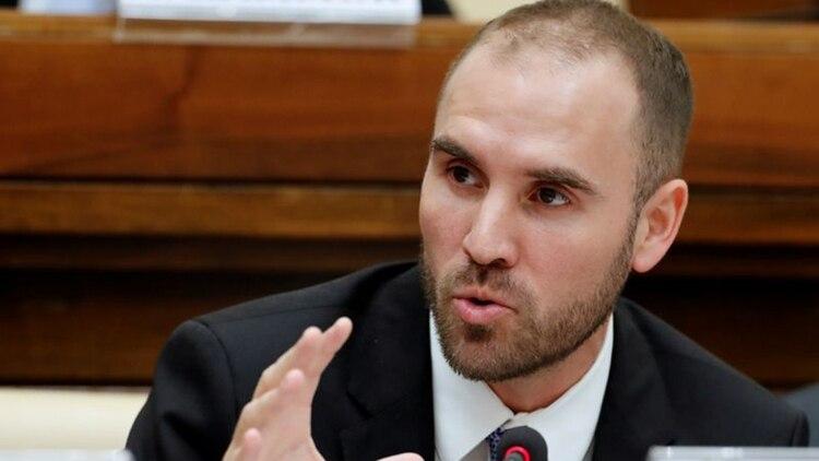El ministro de Economía, Martín Guzmán (REUTERS/Remo Casilli)