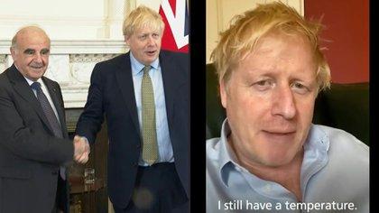 """En el inicio de la crisis por el nuevo coronavirus el primer ministro británico Boris Johnson desdeñó las recomendaciones, afirmando que seguiría """"estrechándole la mano a todo el mundo"""". Un mes más tarde, la enfermedad lo ha llevado a una unidad de cuidados intensivos."""