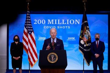 Joe Biden en la Casa Blanca. REUTERS/Tom Brenner