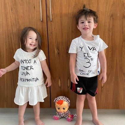 La familia de Lucas Martínez Quarta le dio una sorpresa al jugador (Instagram: @guchicaniglia)