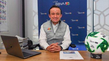 Mikel Arriola, presidente ejecutivo de la Liga MX, advirtió que no se tolerará ningún tipo de discriminación (Foto: Cuartoscuro)