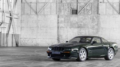 La evolución del V8 Vantage, con 550 caballos de potencia.