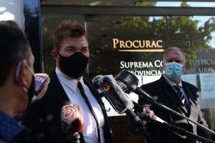 """""""En ningún momento Buzali se dio a la fuga"""", afirmó el abogado Fernando Burlando"""