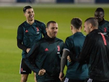 Cristiano Ronaldo y Emre Can compartieron equipo durante dos temporadas -  REUTERS/Alberto Lingria