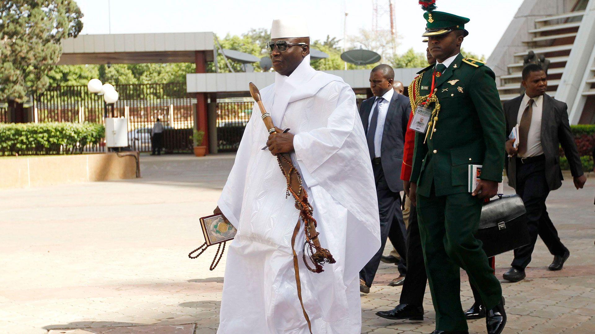 Yahya Jammeh (Shutterstock)