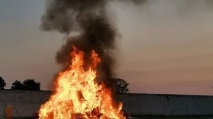 Golpe al narco en Jalisco: quemaron más de una tonelada de drogas en Zapopan