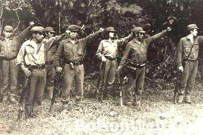 Miembros de la Compañía de Monte del ERP