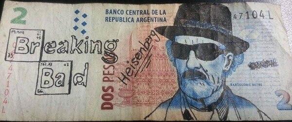 Heisenberg, el alias del protagonista de la serie Breaking Bad, Walter White