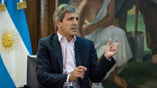 Luis Caputo (Martín Rosenzveig)