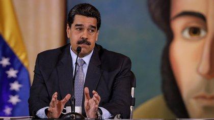 En la imagen, Nicolás Maduro. Foto: EFE