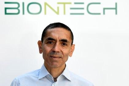 El cofundador de BioNTech, Ugur Sahin (REUTERS/Fabian Bimmer)