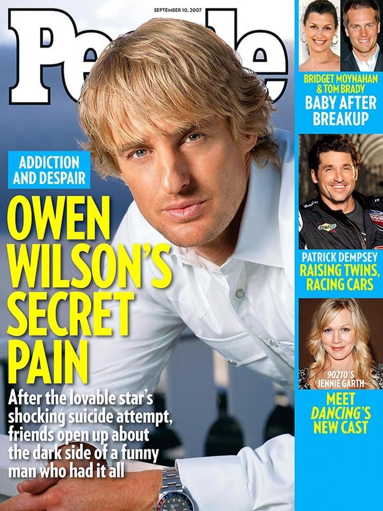 Una de las revistas que reflejo en 2007 la crisis de Owen Wilson